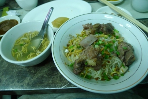 Shan noodle in Yangon - not to be missed.