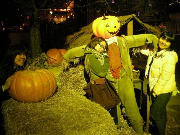 Halloween in Tivoli.