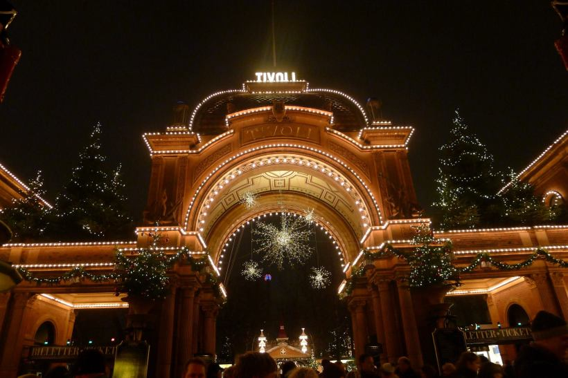 The famous Tivoli gate.