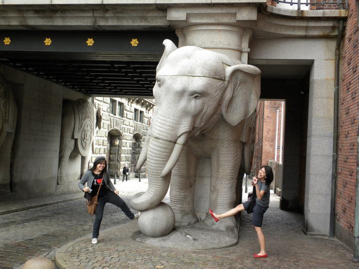 Elephant kick