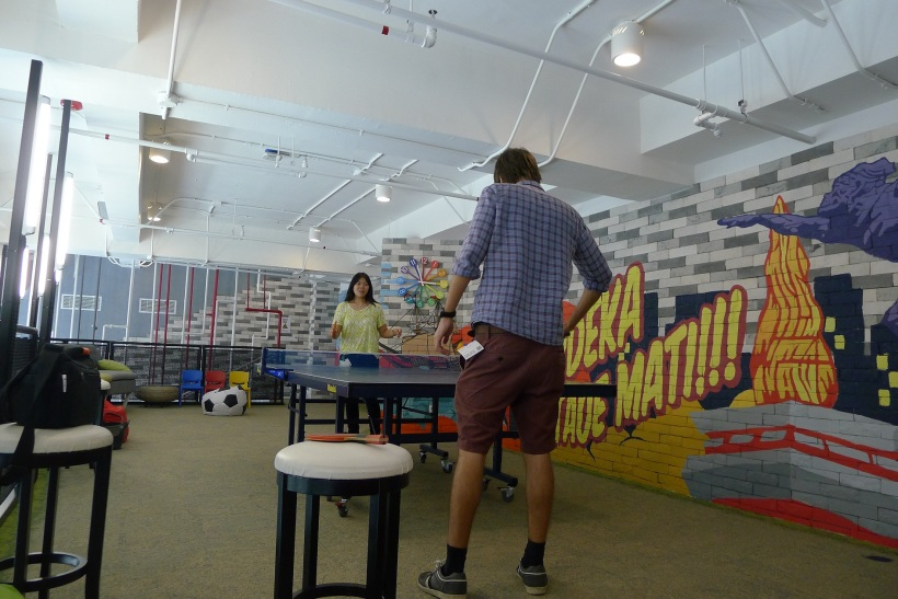 Ping pong at google