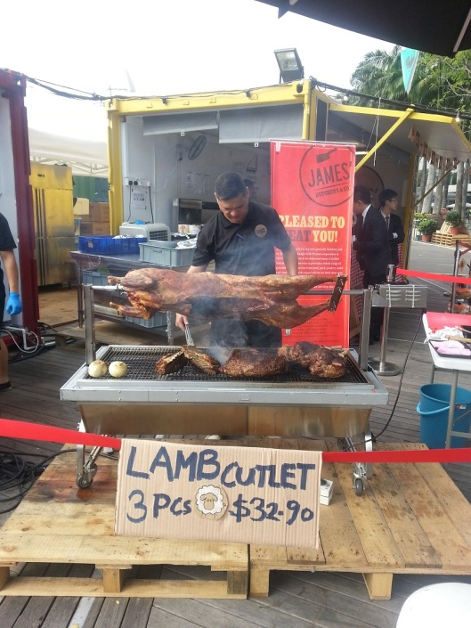 Balinese roast pork aka 'babi guling'.