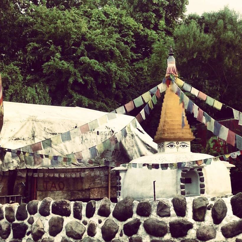Mini Boudhanath in Christiania!