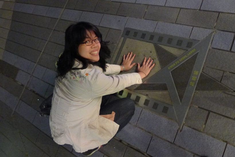 I was too busy thinking that Aaron Kwok and I were meant to be since our hands fit perfectly into each other.