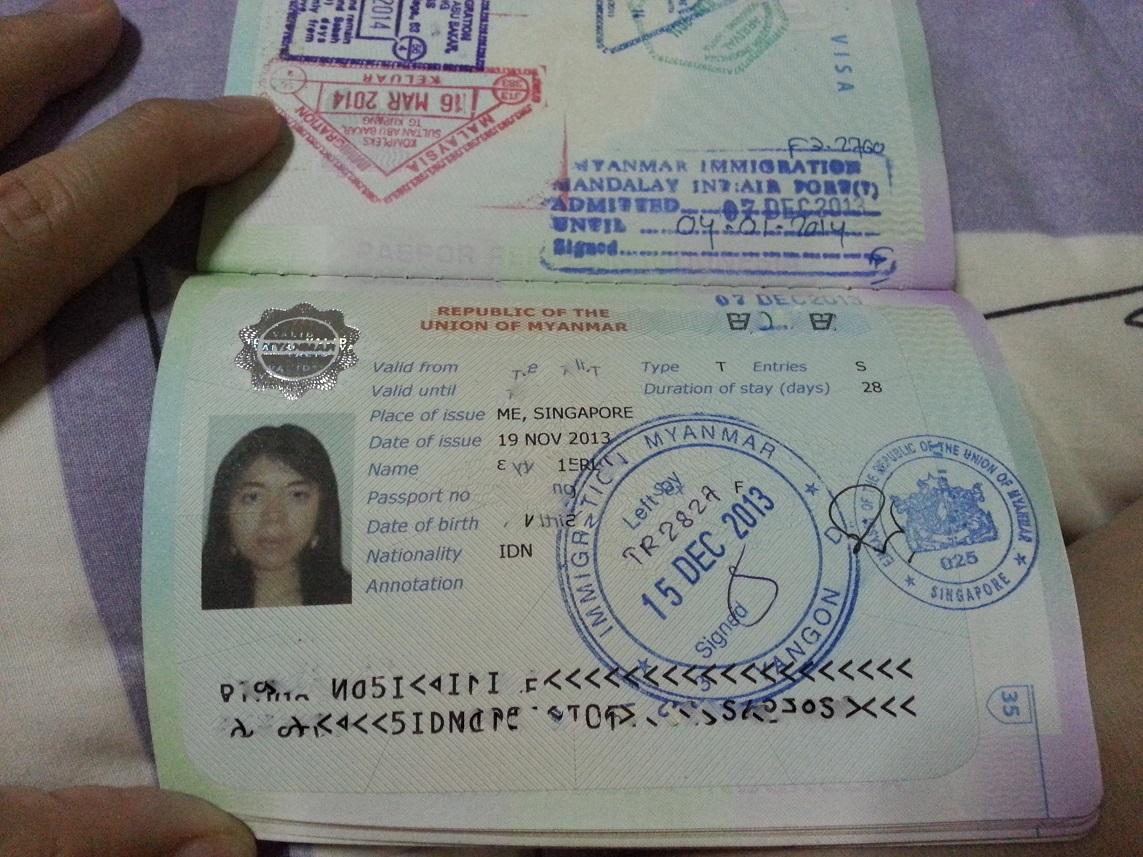 My Passport Full Of Visas Missruslee