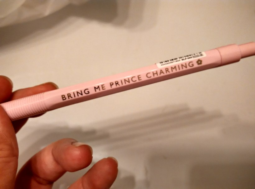 Although if this pen is magical, I would have so much more motivation to carry it around with me.